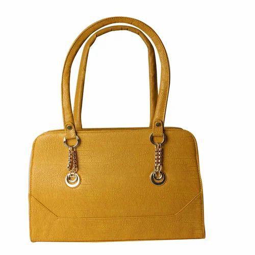 Mustard Color Hand Bag