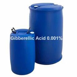 Liquid Gibberellic Acid 0.001% L, For Agriculture Purpose, Packaging Type: Drum, Bottle