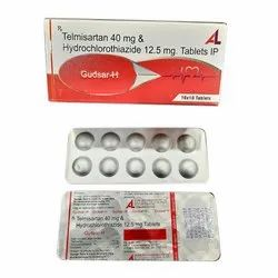 Telmisartan 40 mg Hydrochlorothiazide 12.5 mg Tablets IP
