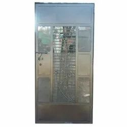 Hinged Stainless Steel Security Door, for Home