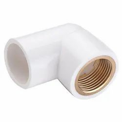 UPVC Brass 90 Degree Elbow