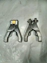 Aluminium static grounding clamp
