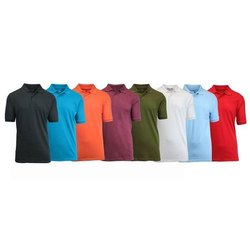 Ladies Polo Neck T Shirt