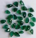 Dark Green Pear Shape Emerald