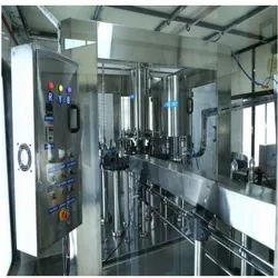 40 BPM Rinsing, Filling and Capping Plant