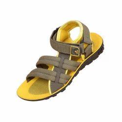 Kids Yellow Footwear, Packaging: Box