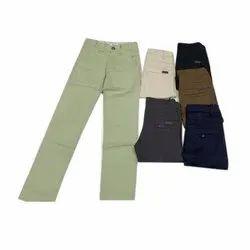 Casual Wear Kids Plain Cotton Pant