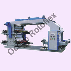 1 to 8 Color Flexo Graphic Printing Machine