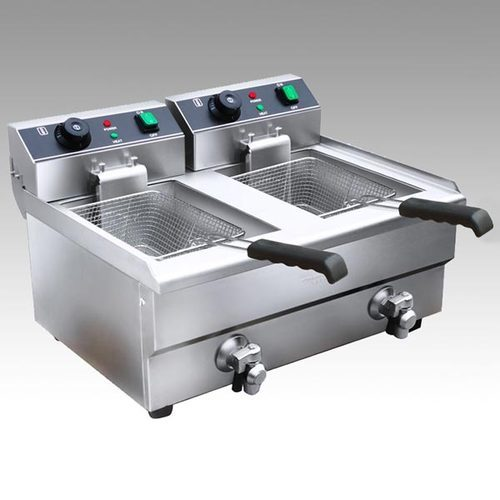 Double Table Top Deep Fat Fryer At Rs 15000 /piece