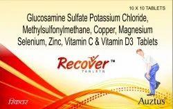 Glucosamine 750mg & MSM 200mg Tablets