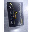 Graphic Solutions Black Plastic / Pvc Indenting Card, Size: 54mmx86mm