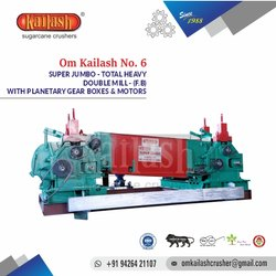Sugarcane Crusher No.6 Super Jumbo Mottu Double Mill