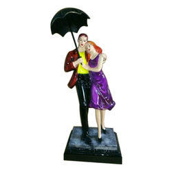 Polyresin Couple Statue