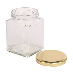 200 ml ITC Square Jar with Cap