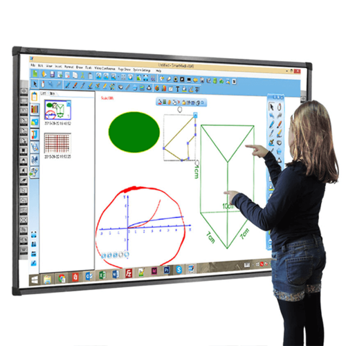 IBIZZ White Finger Touch Digital Interactive Smart Whiteboard, Board Size:  82 Inch,   ID: 8926402273