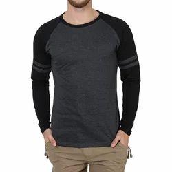 Cotton Plain Men's Casual T-Shirt