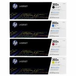 HP 202a Set Cf500a Cf501a Cf502a Cf503a Black Cyan Magenta Yellow Toner Cartridges
