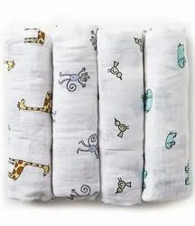 Organic Cotton Certified Muslin Swaddles