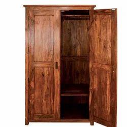 Brown Wooden Almirah