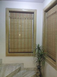 Wooden Brown Chick Blinds, Thickness: 3 mm