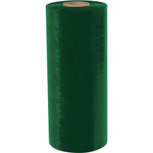 Green Polyethylene Stretch Film, Packaging Type: Box