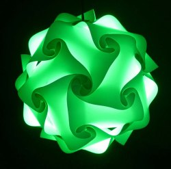 White 3D Puzzle Lights For Diwali Christmas