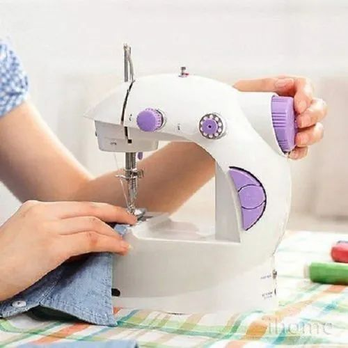 Multi Electric Mini 4 In 1 Desktop Functional Household Sewing Machine for Home