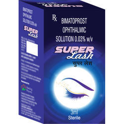 Bimatoprost Ophthalmic Solution  0.03% w/v (Super Lash Drops)