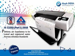 BIS Registration For Plotter