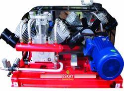 10 HP High Pressure Base Mounted Air Compressors