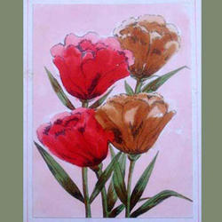 Greeting Card Flowers Red Roses