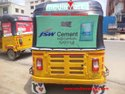 Auto Rickshaw Hood Printing / Auto Hood Advertising / Manufacturer Of Auto Rickshaw Hood Advertising
