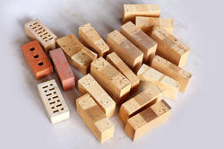 Rectengular Fire Bricks, Size: 9 X 4.5 X 3