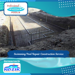 Swimming Pool Repair Construction Service