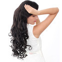 Womens Half High Quality Synthetic Hair Extension