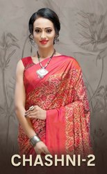 Haytee Chashni Vol-2 Sanna Silk Printed Saree Catalog Collection