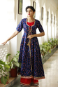 Rayon Double Layered Party Wear Kurti