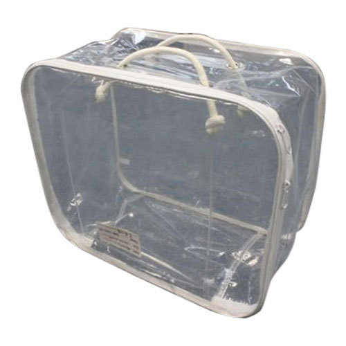 e93cb5930f4 Plastic Transparent Zipper Blanket Bag, Thickness   70 - 90 GSM, Rs ...
