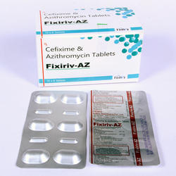 Cefixime 200 mg Azithromycin 250 mg  Tablet