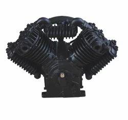 4V-1.05/8 GAHL Belt Driven Lubricated Single Stage Air Compressor Pump Head