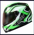 Ts-81 Black Green Symmetry Helmet