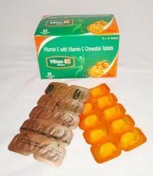 Vitamine E with Vitamin C Tablets