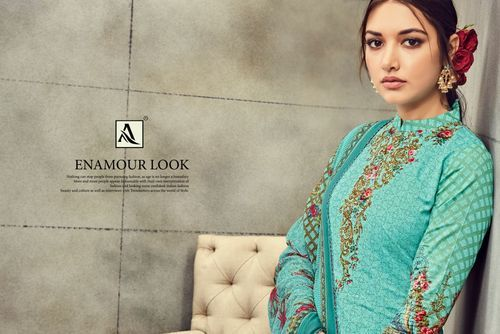 3a9e28d48f Mahnoor Alok Suits Pure Jam Cotton Fabric Salwar Suits at Rs 485 ...