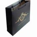 Custom Black Paper Bag