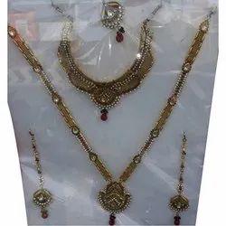 Brass Fancy Jewellery Set