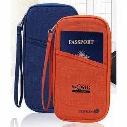 Multi Function Travel Passport Holder