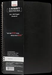 Oddy Spiral Paper Note Book 70 GSM 80 Sheets 5 Subject (No. 2)