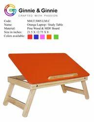 Orange Study Table
