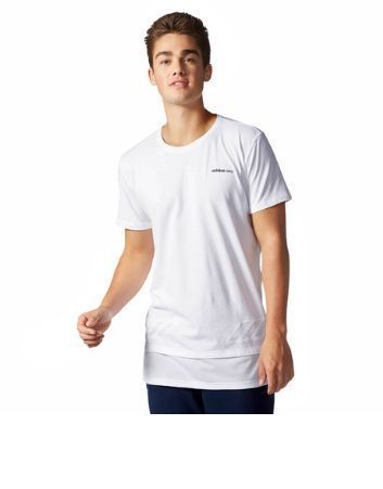 43e2c2c7a69d White Cotton Mens Adidas Neo Cs Extra Mesh Tee, Rs 1139 /piece   ID ...