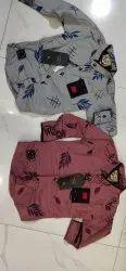 Cotton Printed Boys Shirt